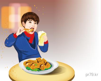 크리스피 치킨 먹는 사람-01.jpg